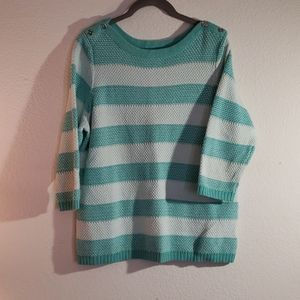 Croft and Barrow stripped sweater
